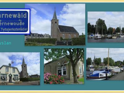 Earnewâld is een dorp in de provincie Fryslân, gemeente Tytsjerksteradiel. (© Jan Dijkstra, Houten)