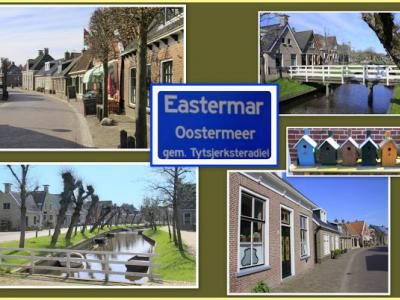 Eastermar is een dorp in de provincie Fryslân, gemeente Tytsjerksteradiel. (© Jan Dijkstra, Houten)