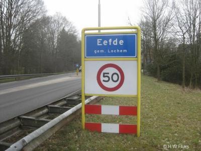 Eefde is een dorp in de provincie Gelderland, in de streek Achterhoek, gemeente Lochem. T/m 2004 gemeente Gorssel.