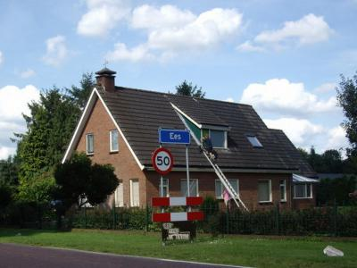 Ees is een dorp in de gemeente Borger-Odoon. T/m 1997 gemeente Borger. (© H.W. Fluks)