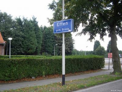Effen is een dorp in de provincie Noord-Brabant, in de regio West-Brabant, daarbinnen in de streek Baronie en Markiezaat, en daar weer binnen in het streekje De Rith, gemeente Breda. T/m 1941 gemeente Princenhage.