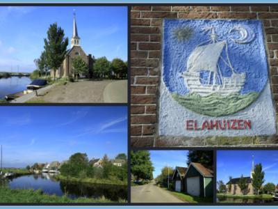 Elahuizen is een dorp in de provincie Fryslân, gemeente De Fryske Marren. (© Jan Dijkstra, Houten)
