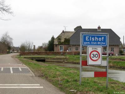 Elshof is een buurtschap in de provincie Overijssel, in de streek Salland, gemeente Olst-Wijhe. T/m 2000 gemeente Wijhe.