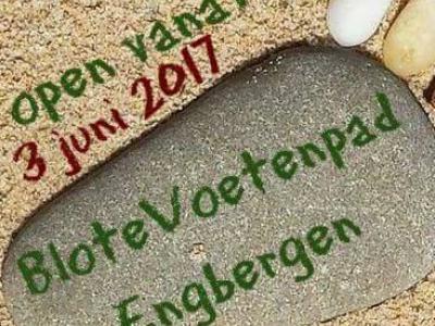 In juni 2017 is BloteVoetenpad Engbergen gerealiseerd. Een belevenis voor jong en ouder!