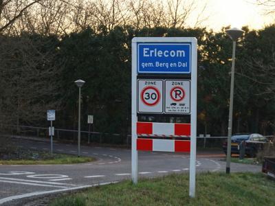 Erlecom is een buurtschap in de gemeente Berg en Dal. T/m 2014 gemeente Ubbergen. (© H.W. Fluks)