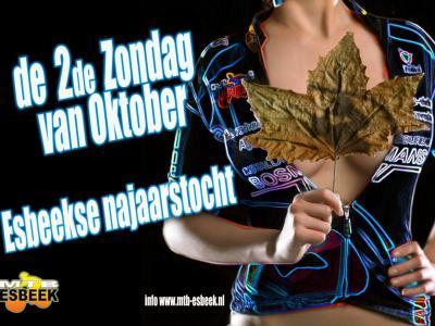 De bosrijke omgeving van Esbeek is een paradijs voor o.a. MTB'ers. Vandaar dat MTB Esbeek diverse tochten organiseert. Op de tweede zaterdag van oktober is dat de Esbeekse Najaarstocht.