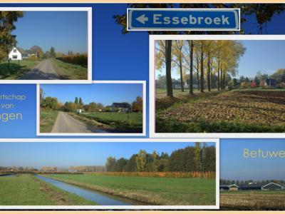 Essebroek, collage van buurtschapsgezichten (© Jan Dijkstra, Houten)