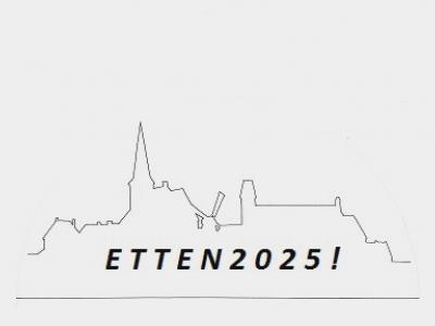 Onder het motto 'Etten 2025' zijn de inwoners van het dorp anno 2017 aan het inventariseren welke kant ze komende jaren op willen qua voorzieningen e.d. En daar gaat heel wat moois uit komen! Kijk maar in het hoofdstuk Recente ontwikkelingen.