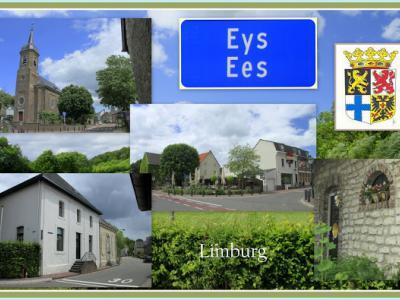Eys, collage van dorpsgezichten (© Jan Dijkstra, Houten)