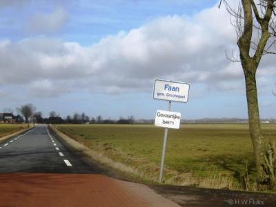 Faan is een buurtschap in de provincie Groningen, in de streek en gemeente Westerkwartier. T/m 1989 gemeente Oldekerk. In 1990 over naar gemeente Grootegast, in 2019 over naar gemeente Westerkwartier.