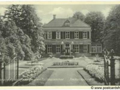 Frederiksoord, Gerard Adriaan van Swieten Tuinbouwschool