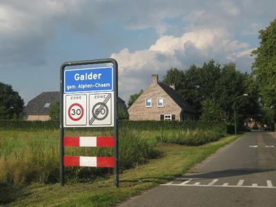 Galder is een dorp in de provincie Noord-Brabant, in de regio West-Brabant, en daarbinnen in de streek Baronie en Markiezaat, gem. Alphen-Chaam. T/m 1941 gem. Ginneken en Bavel. In 1942 over naar gem. Nieuw-Ginneken, in 1997 over naar gem. Alphen-Chaam.