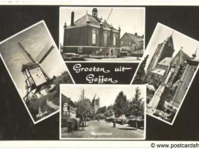 Geffen, Groeten uit, 1958
