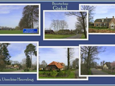 Ginkel, collage van buurtschapsgezichten (© Jan Dijkstra, Houten)