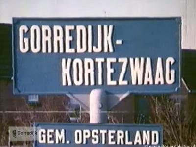 In 1962 is Kortezwaag zijn dorpsstatus ontnomen en is het formeel een geheel geworden met Gorredijk. Op de plaatsnaamborden heeft het nog een aantal jaren als Gorredijk-Kortezwaag gestaan. Tegenwoordig heet het hele grondgebied voor de post Gorredijk.