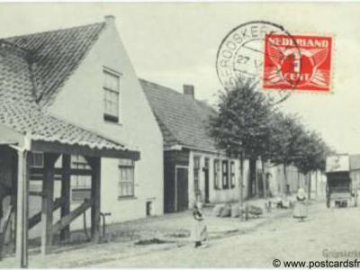 Grijpskerke dorpsgezicht 1927