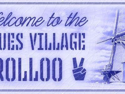 Sinds de 1e editie van het Holland International Blues Festival in 2016 is Grolloo omgedoopt tot Blues Village Grolloo. Deze borden onder de plaatsnaamborden zijn in mei 2016 feestelijk onthuld door burgemeester Eric van Oosterhout en Johan Derksen.