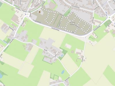 Groote Hoeven is een buurtschap direct Z van de dorpskern van Someren, rond de weg Ruiter. N daarvan, in het Z grenzend aan de rondweg, is anno 2019 de gelijknamige nieuwbouwwijk in ontwikkeling. Op deze kaart is die al ingetekend. (©www.openstreetmap.org