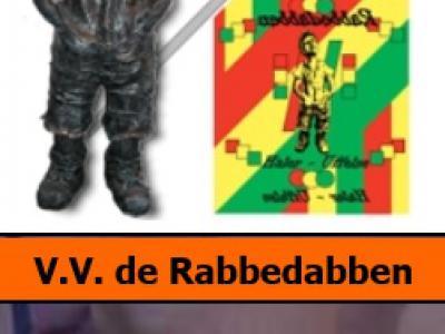 V.V. De Rabbedabben (voor de Ollanders: in Limburg staat V.V. niet voor voetbalvereniging, maar voor Vastelaoves Vereiniging) laat op haar site vast zien hoe een plaatsnaambord Haler-Uffelse eruitziet (hint naar gemeente Leudal; zie verder het kopje Naam)