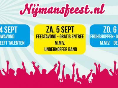 In de buurtschap Halle-Nijman bouwen ze ieder jaar een groot feest, en wel het Nijmansfeest, in een weekend in september. In 2018 was dat alweer voor de 73e keer!