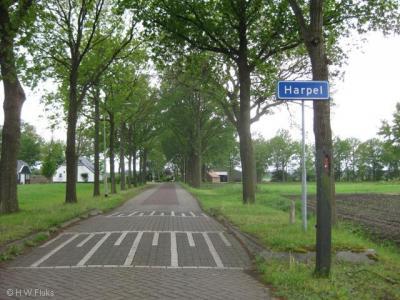 De buurtschap Harpel viel oorspronkelijk onder de gemeente Vlagtwedde. Sinds de herindeling van 2018 ligt deze in de gemeente Westerwolde.