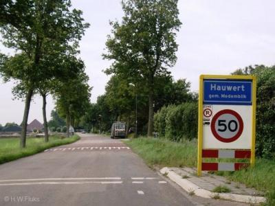 Hauwert is een dorp in de provincie Noord-Holland, in de streek West-Friesland, gemeente Medemblik. T/m 1978 grotendeels gem. Nibbixwoud, deels gem. Wervershoof. In 1979 in zijn geheel over naar gem. Noorder-Koggenland, in 2007 over naar gem. Medemblik.