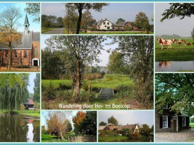 Hei- en Boeicop is nog altijd een kleinschalig dorp met veel groen (© Jan Dijkstra, Houten)