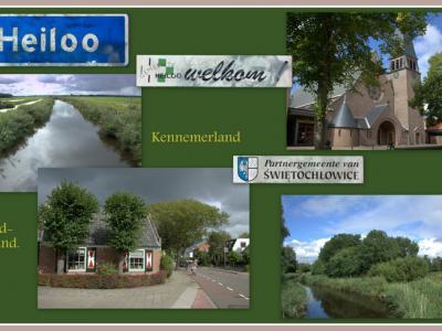 Heiloo, collage van dorpsgezichten (© Jan Dijkstra, Houten)