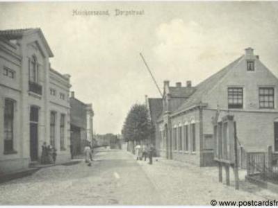 Heinkenszand, Dorpsstraat, ca. 1910
