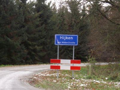 Hijken is een dorp in de provincie Drenthe, gemeente Midden-Drenthe. T/m 1997 gemeente Beilen. (© H.W. Fluks)