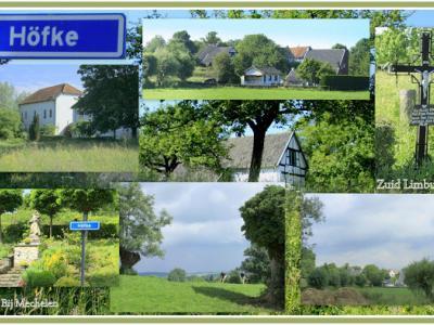 Höfke, collage van buurtschapsgezichten (© Jan Dijkstra, Houten)