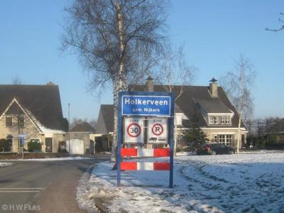 Holkerveen is een buurtschap in de provincie Gelderland, in de streek Veluwe, gemeente Nijkerk.
