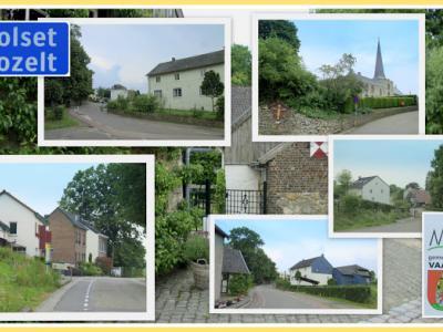 Holset, collage van dorpsgezichten (© Jan Dijkstra, Houten)