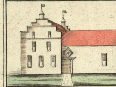 In de buurtschap Holwinde heeft vroeger de gelijknamige borg gestaan. Deze tekening komt van de kaart van Groningen en Ommelanden uit 1678 door Willem en Frederik Coenders van Helpen. (https://upload.wikimedia.org/wikipedia/commons/f/f2/Coenderskaart.png)