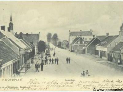 Hoofdplaat, Kersenlaan, 1905