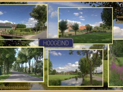 Direct N van de stad Leerdam kom je in het zeer landelijke buurtschapje Hoogeind, met nog vele fraaie oude, monumentale boerderijen, waaronder zelfs nog eentje uit de 17e eeuw. (© Jan Dijkstra, Houten)