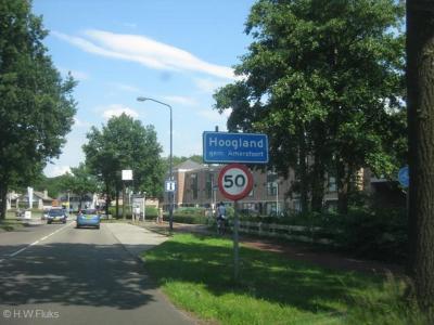 Hoogland is een dorp in de provincie Utrecht, in de streek Eemland, gemeente Amersfoort. Het was een zelfstandige gemeente t/m  1973.