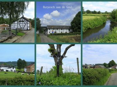 Hurpesch, collage van buurtschapsgezichten (© Jan Dijkstra, Houten)