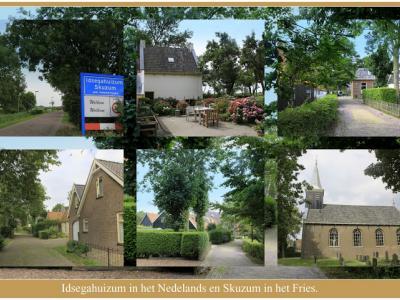Idsegahuizum, collage van dorpsgezichten (© Jan Dijkstra, Houten)