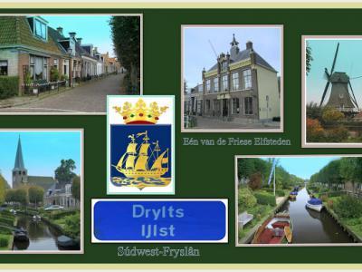 IJlst is een stad in de provincie Fryslân, gemeente Súdwest-Fryslân. Het was een zelfstandige gemeente t/m 1983. In 1984 over naar gemeente Wymbritseradiel, in 2011 over naar gemeente Súdwest-Fryslân. (© Jan Dijkstra, Houten)