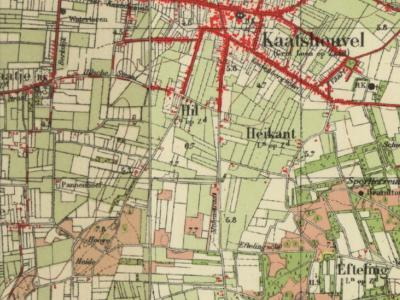 Tot de jaren '50 is Kaatsheuvel nog een klein dorp met een groot buitengebied. Door de groei van het dorp is het tegenwoordig net andersom. Een van de buurtschappen van het dorp was Efteling, sinds 1952 vervangen door het gelijknamige attractiepark.