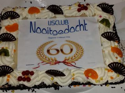 IJsclub Nooitgedacht in Kamerik is opgericht in 1956 en heeft daarom in 2016 het 60-jarig bestaan gevierd