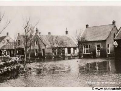 Kerkwerve, watersnood, 1953