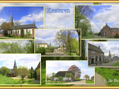 Kesteren, collage van dorpsgezichten (© Jan Dijkstra, Houten)