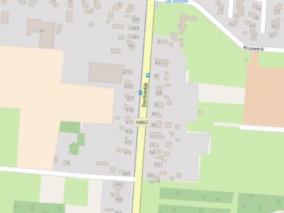 De Dordsedijk in Klazienaveen is voor zover ons bekend een uniek geval qua 'tegendraadse huisnummering'; hier nummert men én aansluitend, dus niet oneven of even apart, én in N-Z richting gezien nummert men aan de O kant oplopend en aan de W kant aflopend