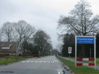 Kloosterhaar is een dorp in de provincie Overijssel, in grotendeels de streek Salland, gemeente Hardenberg (t/m 30-4-1941 gemeente Ambt-Hardenberg), en voor een klein deel in de streek Twente, gemeente Twenterand (t/m 2000 gemeente Vriezenveen).