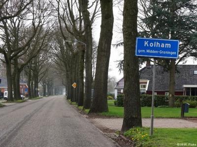 Kolham is een dorp in de provincie Groningen, in de streek Duurswold, gemeente Midden-Groningen. T/m 2017 gemeente Slochteren.