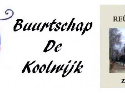 Helaas - wat ons betreft - is in diverse streken het begrip 'buurtschap' gangbaar, waar men eigenlijk 'buurtvereniging' bedoelt. Dat kan tot verwarring leiden. Immers: de buurtscháp Koolwijk is al 500 jaar oud, de buurtveréniging bestond in 2014 40 jaar.