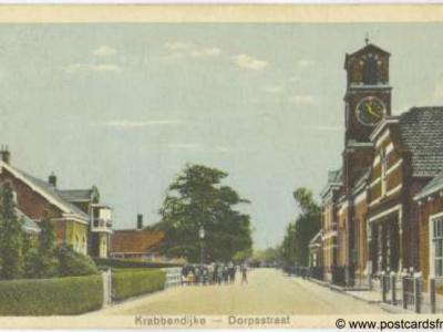 Krabbendijke, Dorpsstraat, 1929