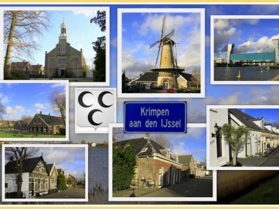 Krimpen aan den IJssel is een dorp en gemeente in de provincie Zuid-Holland, in de streek Krimpenerwaard. (© Jan Dijkstra, Houten)